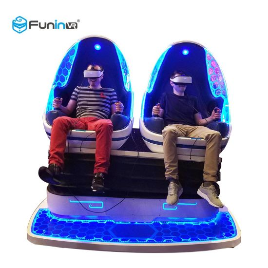 9d Virtual Reality Motion Simulator Vr Egg Chair Rides