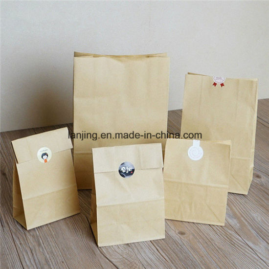 Kraft Paper Gift Wedding Party Brown Bags Craft Shopping Bag pictures & photos
