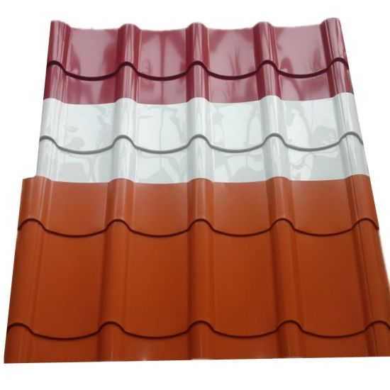 Building Material PPGI Corrugated Steel Roof Roofing Sheet Roof Tile