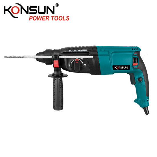 Konsun Electric Power Tools 26mm Electric Rotary Hammer Drill Kx83420