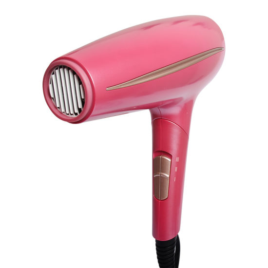Ufree Vendor Best Professional Hair Blow Dryer for Fine Hair Blower with Pink Finishing