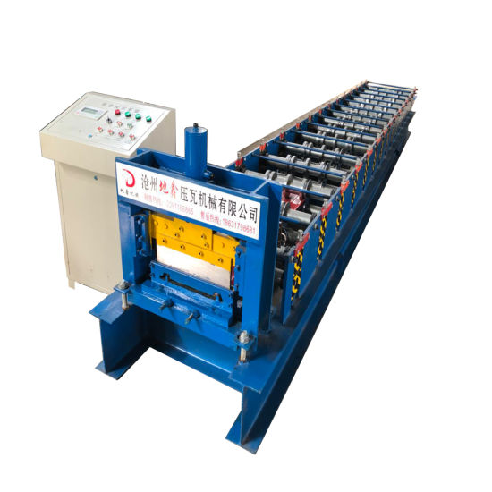 Seamless Self Lock Roofing Sheet Roll Forming Machine Price