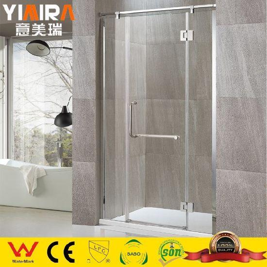 High Quality Chrome Finish Bathroom Accessories Shower Screen
