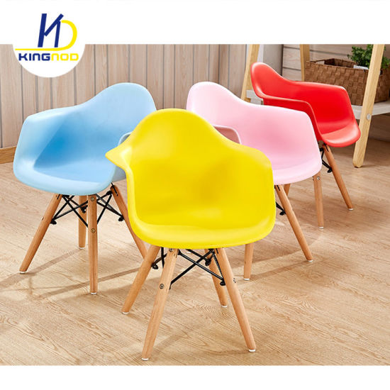 Astonishing Kids Furniture Strong And Colorful Eames Plastic Kids Dining Chair With Armrest Cjindustries Chair Design For Home Cjindustriesco