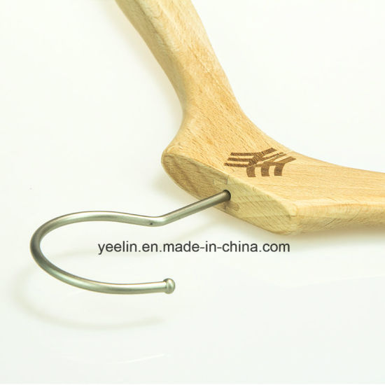 Wholesale Fancy Beech Wood Hanger, Wooden Clothes Hanger (YL-a012) pictures & photos