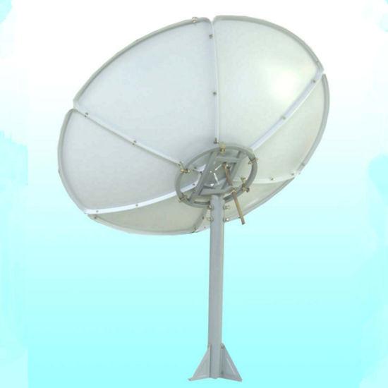 China C Band 180cm 18m 6 Feet Prime Focus Outdoor Satellite Tv Dish