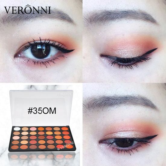 VERONNI 35 Colors Eyeshadow Palette 35om Good Quality Matte Eyeshadow 35 Color Eye Shadow for Daily Cosmetics Makeup. Get Latest Price