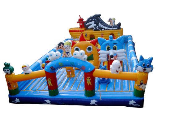 Kids Bouncy Castle for Outdoor (FC-023) pictures & photos