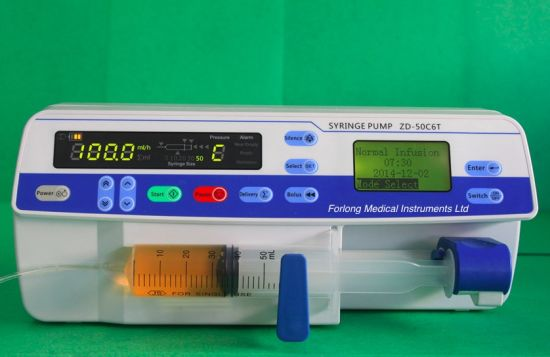 Hot Seller CE Approved Electric Syringe Pump pictures & photos