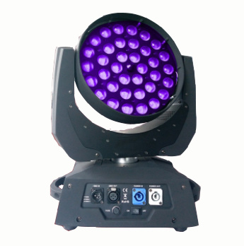 Zoom Beam 36 12W LED Mini Wash Moving Head