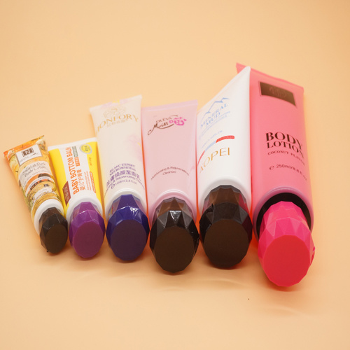 Hand Cream Cosmetic Plastic Packaging Tube with Flip-Top Cap