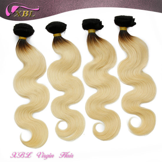 2015 Fashion Two Tone Brazilian Virgin Hair Ombre Hair Extension pictures & photos