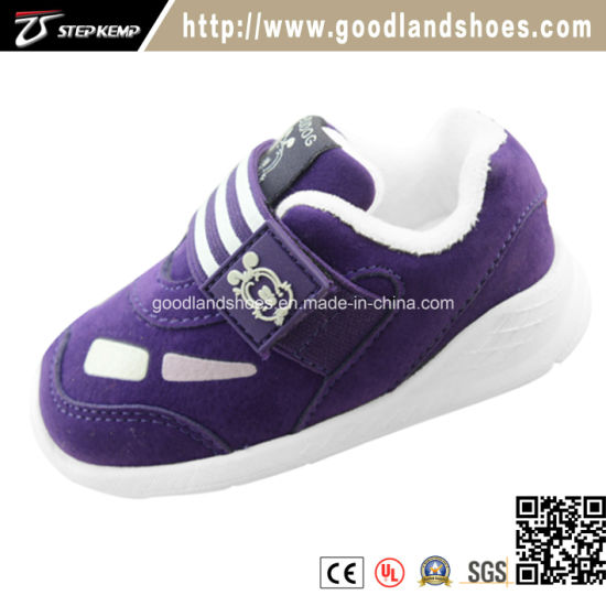 New Chirldren Casual Sport Hot Selling Baby Shoes Ex-9101
