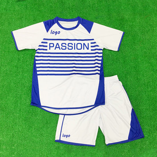 Healong Factory Wholesale Sublimation Sports Jersey Uniform Soccer Shirt for Club