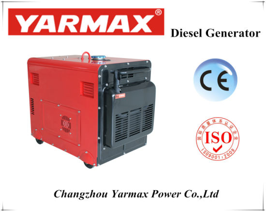 Silent Type Diesel Generator Strong Body and Unique Design pictures & photos