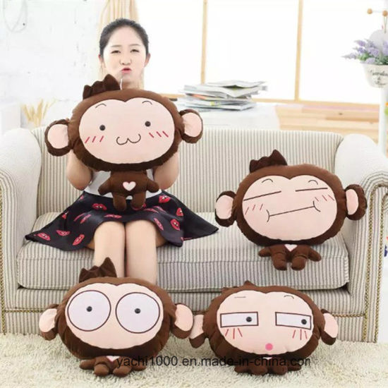 Plush Stuffed Monkey Toy with Soft Material
