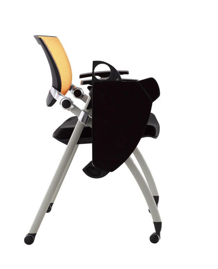 Stackable Office Training Chair with Writing Tablet pictures & photos