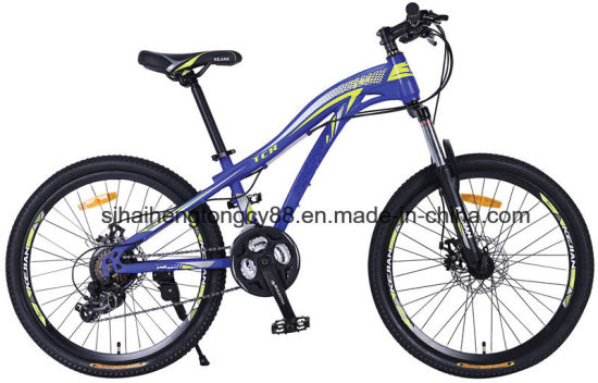 24inch Steel Frame MTB Bicycle with 21 Speed pictures & photos