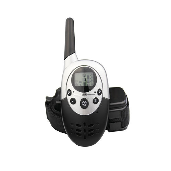 Dog Quiet Dog Training Rechargeable and Waterproof Electric Collar for Medium or Large Dog Trainer Collar Custom
