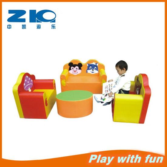 PVC Kids Sofa Princess Children Sofa Indoor Soft Furniture