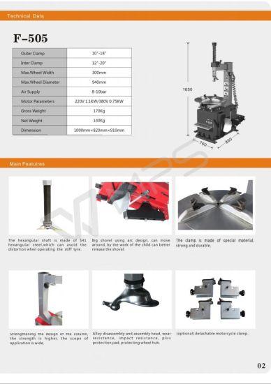 China So Good Tire Changer, F-505 - China Tire, Tire Repair Tools