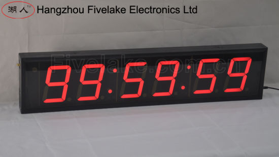 4 Inch 6 Digit LED Digital Countdown Timer (FDC-406)
