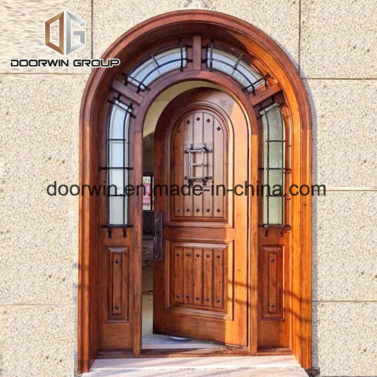 China French Arched Entry Door All Wood Doors Exterior Wood Front