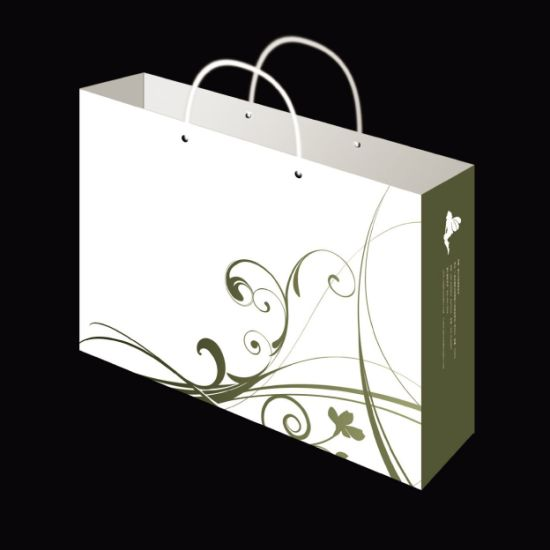 High Quality Lower Price Paper Shopping Bags with Custom Artwork