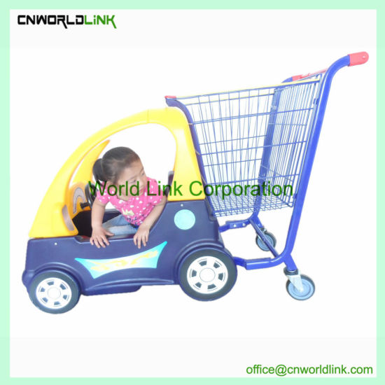 Kids Trolley Baby Toy Car Seat Shopping Cart For Children