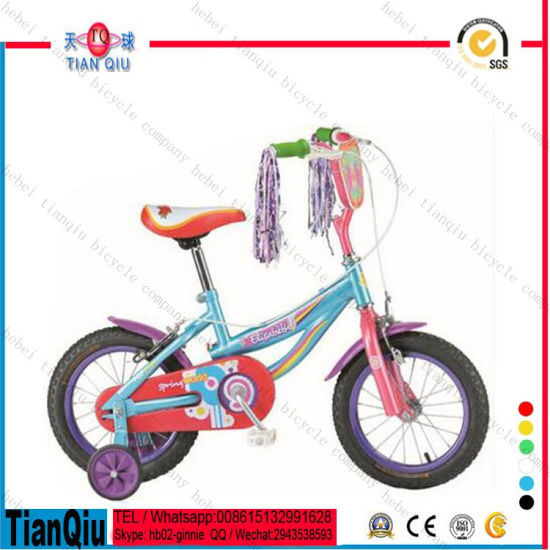 "2016 12"" 16"" 20"" Simple Low Price Girl Bike/Bicycle/Cycle Kid′s Bike for Baby Child pictures & photos"