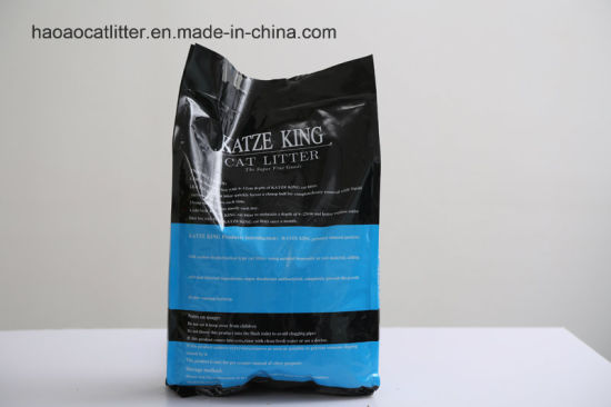 Katze King Clumping Odor Control Cat Litter pictures & photos