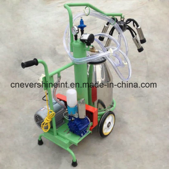 Vacuum Pump Milking Machine Electrical Cow Milker Green Painting