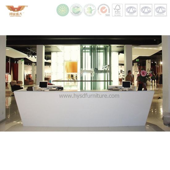 Modern Simple Beauty Salon Reception Desk For Hotel Contract (R78) Pictures  U0026 Photos