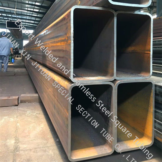 Steel Grade Q345b/S335jrh/S275jrh Square Tube for Construction Materials