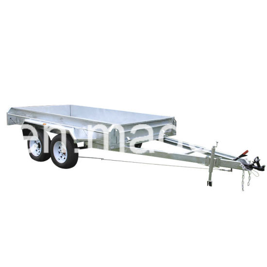 Hot Dipped Galvanized Tandem Trailer pictures & photos