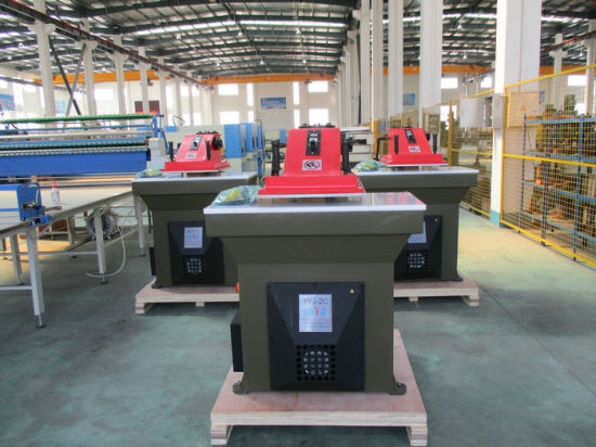 Atom Type Swing Arm Hydraulic Cutting Machine pictures & photos