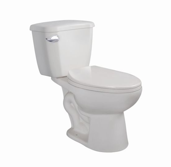 Ceramic Siphonic Two Piece S-Trap 300mm American Toilet with Cupc