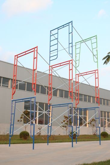 Walk Thru Frame Scaffolding (FF-740A) pictures & photos