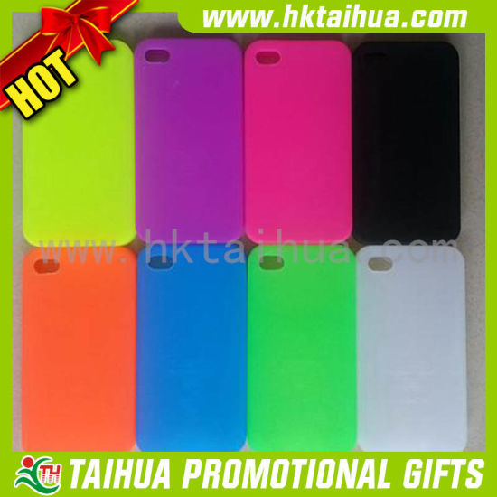 2016 Beautiful Transparent Phone Case with Liquid Glass pictures & photos