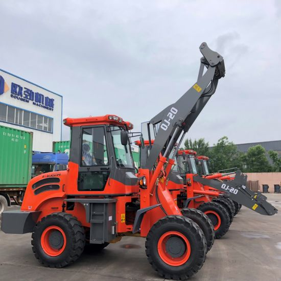 Eougem Gem930 Mini Front End Loader with Hydraulic Joystick Control