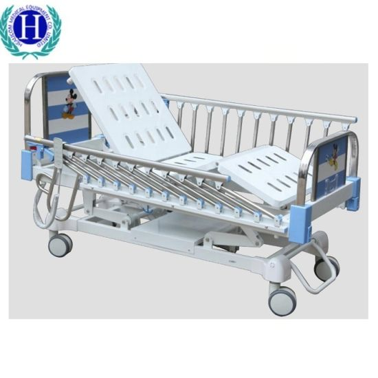 2 Functions Pediatric Electric Hospital Medical Bed