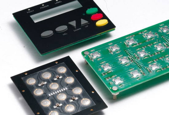 Silicon Rubber Keypad Screen /Digital Printing Gate Control Board OEM Support