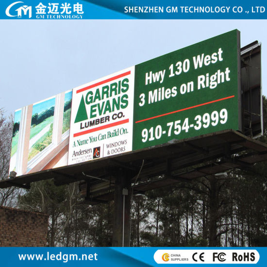 Outdoor Full Color 8000 CD P8 LED Screen Billboard for Advertising Panel Sign