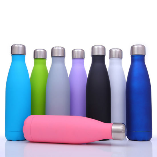 750ml/25oz Swelling Cola Style Stainless Vacuum Flask Sports Water Bottle