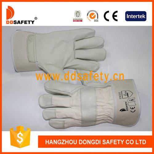 Wholesale White Wedding Leather Working Safety Glove