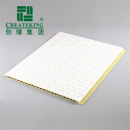 Indoor Decorative Plastic PVC Ceiling Panel for Bathroom and Kitchen