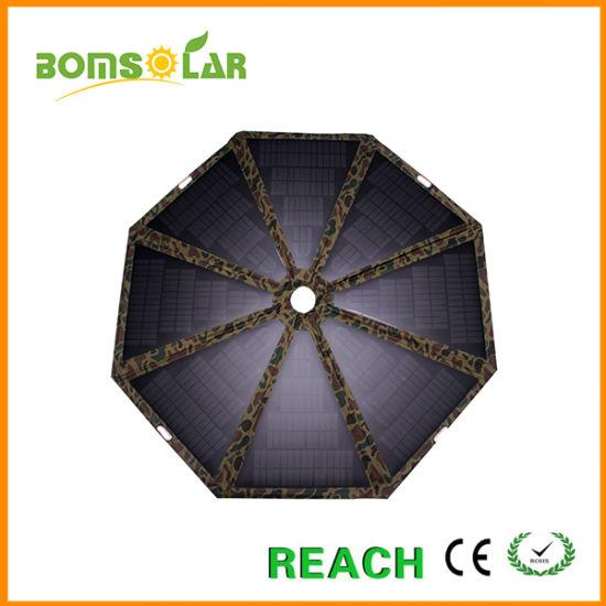 60W Mono Solar Umbrella, Solar Panel Charger for Outdoor Sun Umbrella