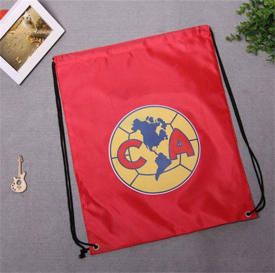 Customized Patterns Drawstring Backpack Drawstring Bag with Custom Logo Printed