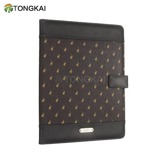 2 Pocket Portfolio Notebook A4 Padfolio with Magnet