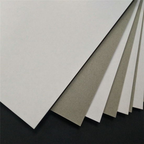 1200g Laminted White Duplex Board/Paper with High GSM and Great Quantities